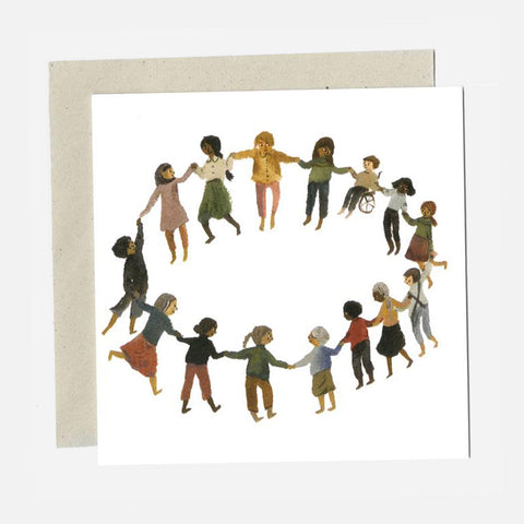 Greeting Card - Together