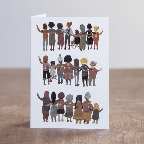Greeting Card - Unity, Solidarity, Strength