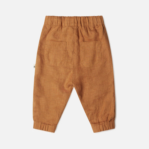 Linen Wilder Pants - Rust
