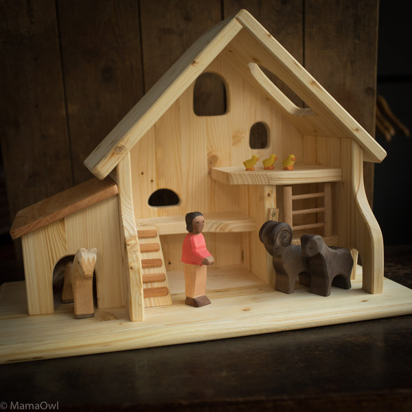 Wooden Stable For Animals