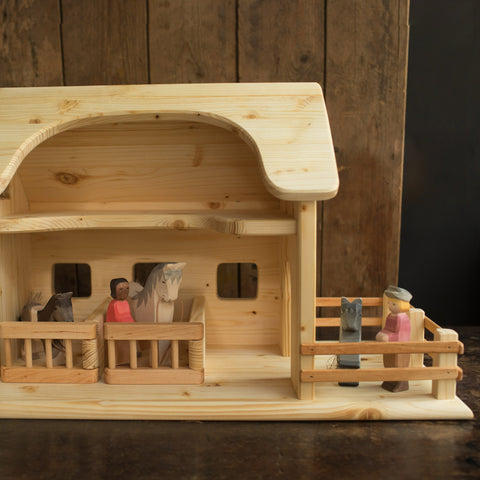 Wooden Horse Stable