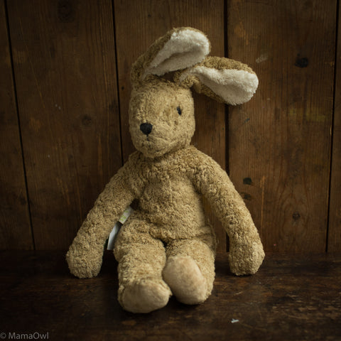 Organic Cotton Large Rabbit - Beige