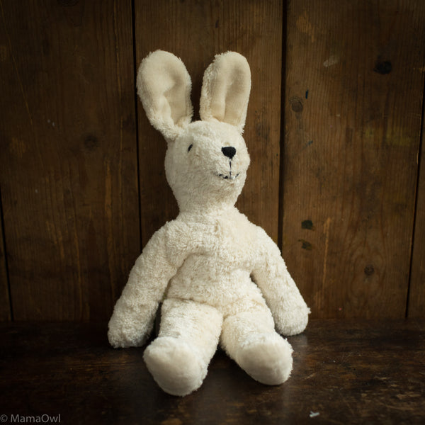 Organic Cotton Small Rabbit - White