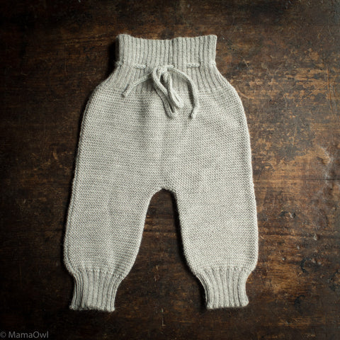 Alpaca Rico Pants - Grey