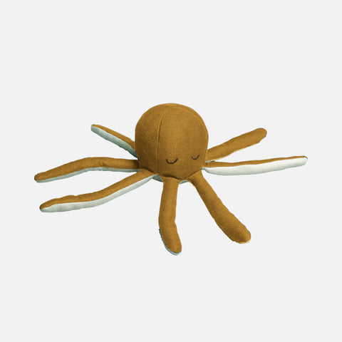 Organic Cotton Rattle - Octopus