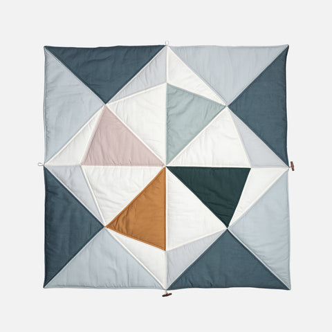 Organic Cotton Origami Play Fold Ship Blanket