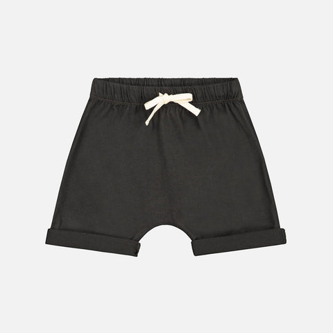 Organic Cotton Shorts - Nearly Black
