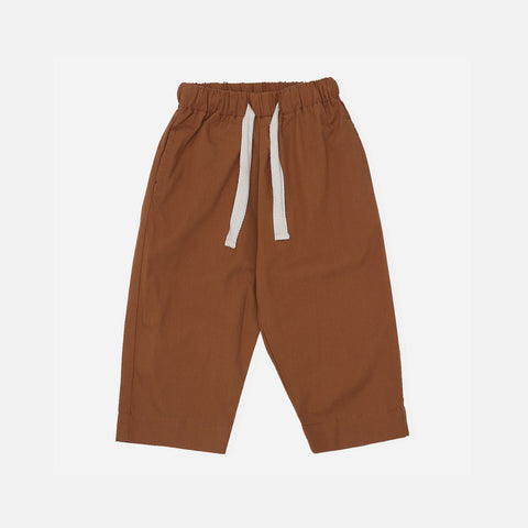Organic Cotton Visno Pants - Caramel