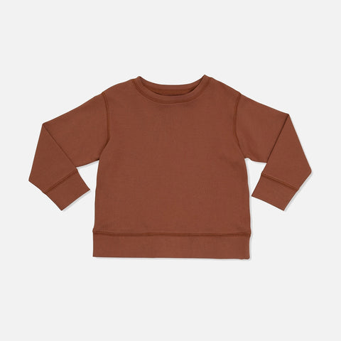 Cotton Ebi Top - Caramel