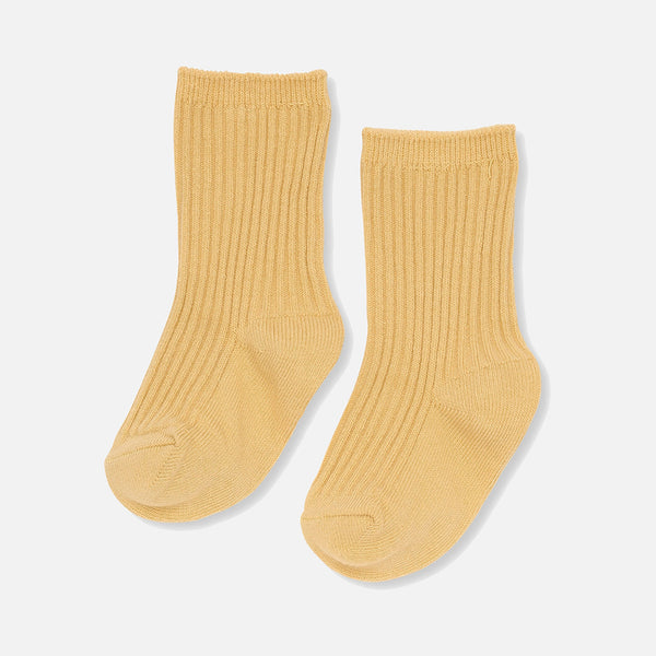 Organic Cotton Hisao Rib Socks - Sunspell