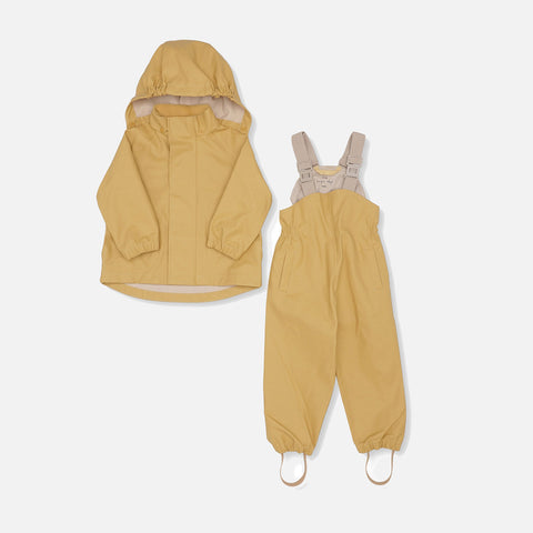 Palme Rainwear Set Solid Cotton - Acacia