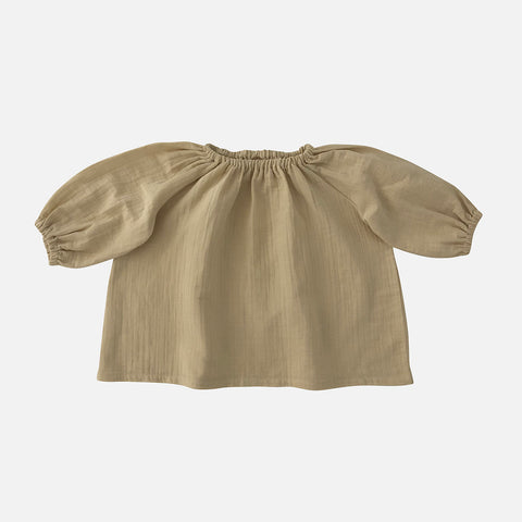 Organic Cotton Liilu Blouse - Honey