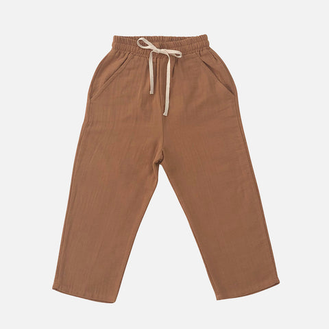 Organic Cotton Tavi Pants - Terracotta