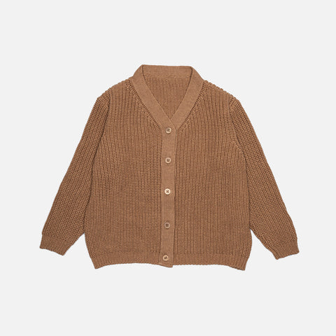 Organic Wool/Cotton Cardigan - Doe
