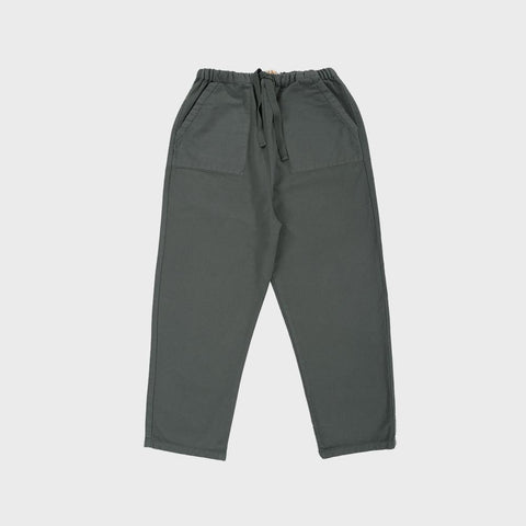 Organic Cotton Lee Trousers - Pine Green - 18m-8y
