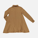 Women's Organic Cotton Chaï Dress - Brown Sugar