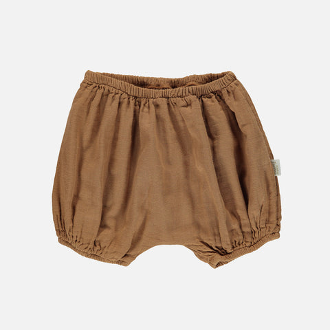 Organic Cotton Verveine Bloomers - Brown Sugar