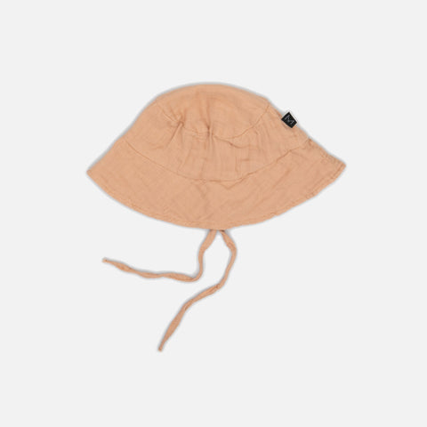 Organic Cotton Sun Hat - Apricot