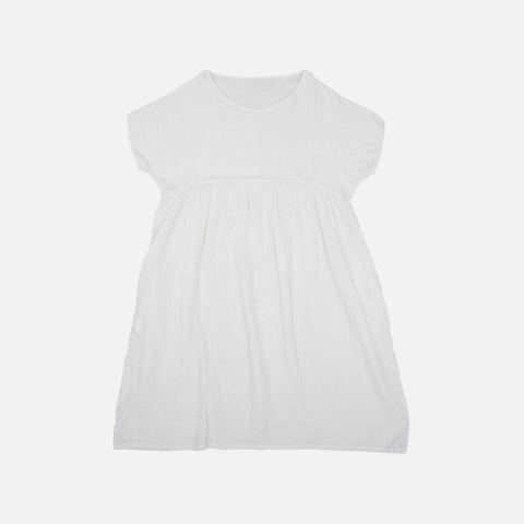 Women's Organic Cotton Dress - Ivory
