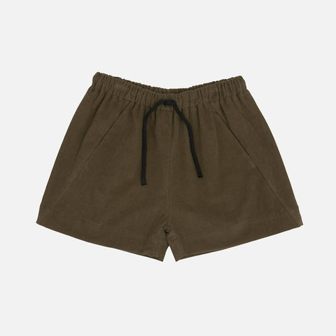 Organic Cotton Shorts - Olive
