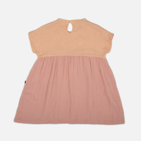 Organic Cotton Dress - Rose