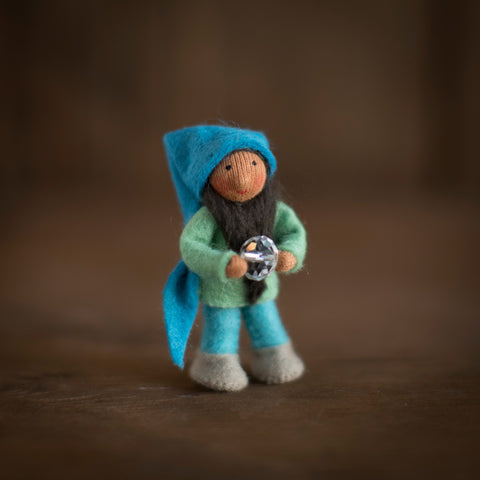 Handmade Small Pocket Gnome - Orion