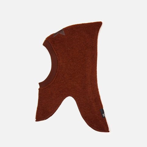 Wool Felt Balaclava - Oak/Oak Star