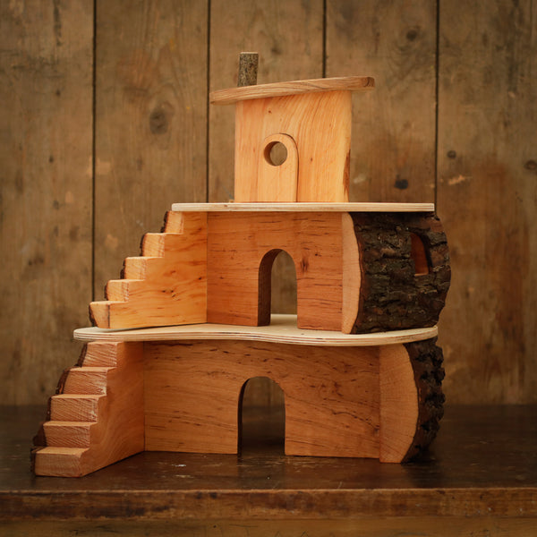 Handmade Small Wooden Treehouse