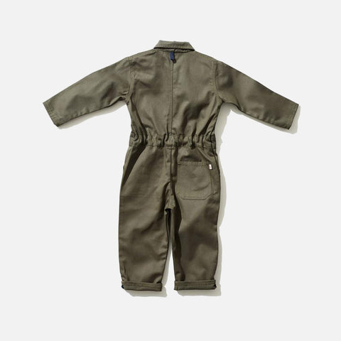Cotton Engineer Boilersuit - Olive