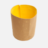 Organic Cotton Storage Bin - Yellow