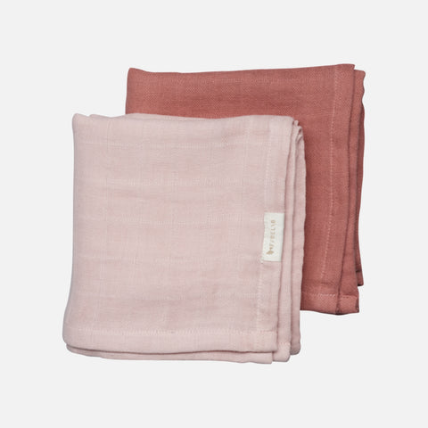 Organic Cotton Muslin set - Berry