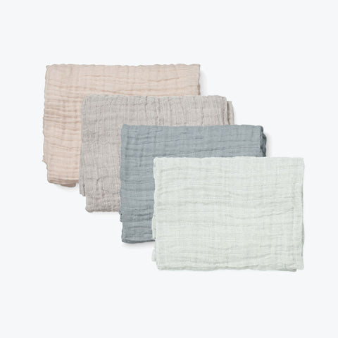 Organic Cotton Muslins - 7 colours