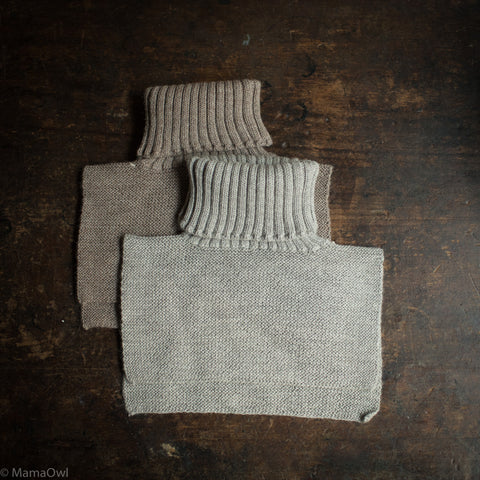 Alpaca Turtleneck - Light Grey