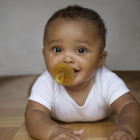Natural Original Rubber Soother/Pacifier - Round
