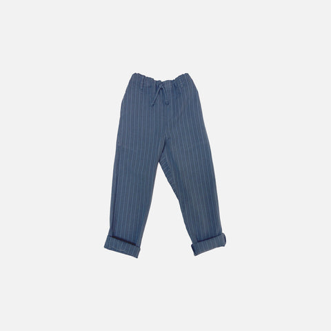 Neptune Striped Pants - Space Blue - 6y