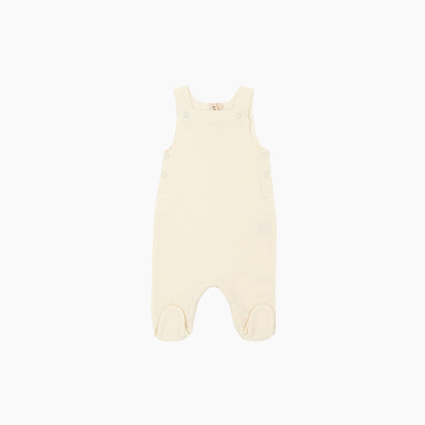 Organic Cotton Newborn Suit - Creme - 0-1m