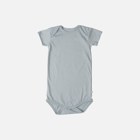 Organic Cotton SS Noma Body - Powder Blue - 1m-3y