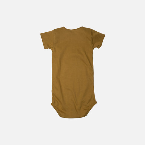 Organic Cotton SS Noma Body - Golden Leaf - 1m-3y
