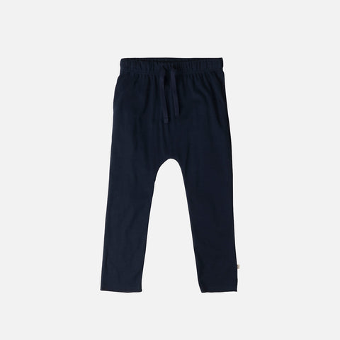 Organic Cotton Nordic Pants - Dark Blue - 1-6y