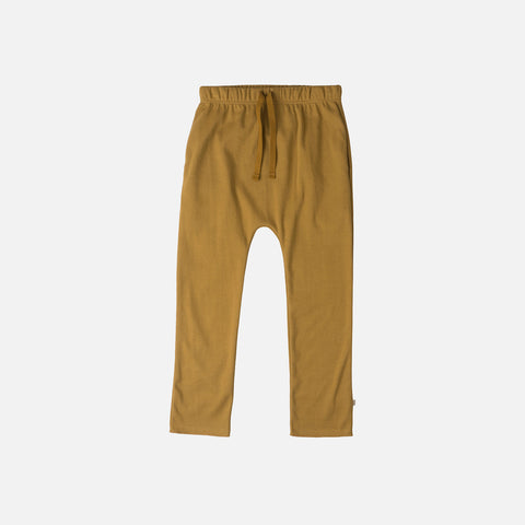 Organic Cotton Nordic Pants - Golden Leaf - 1-6y