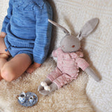 Organic Cotton Large Rabbit - Pink Sand