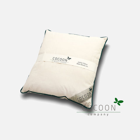 Organic Cotton Pillow - Junior - Natural