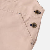 Cotton Porter Dungaree - Sand