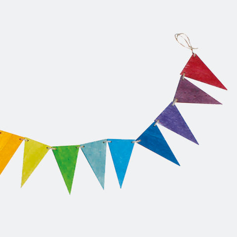 Rainbow Pennant Banner - Bunting