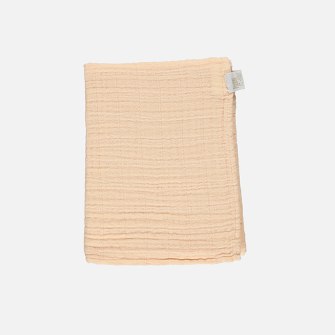 Soft Organic Cotton Muslin - Apple Blossom