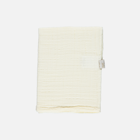 Soft Organic Cotton Muslin - Lait