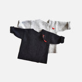Boiled Wool Jacket - Charcoal - 18m-5y