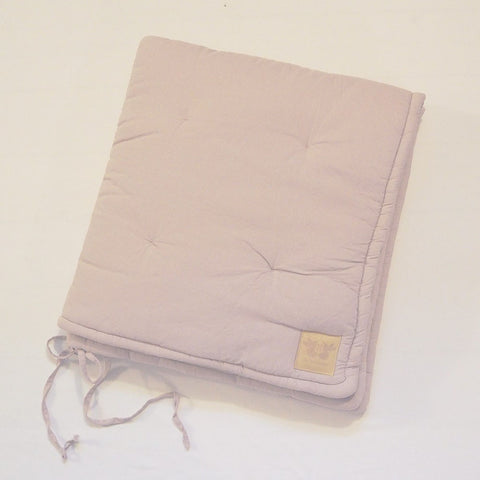 Organic Cotton Play Mattress Large - Pink