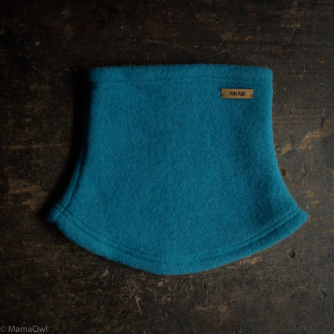 Merino Fleece Neck Warmer - Petrol