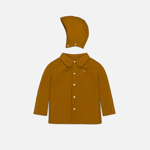 100% Waterproof Classic Raincoat - Acorn